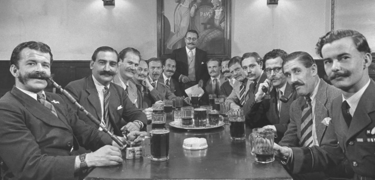 the handlebar club
