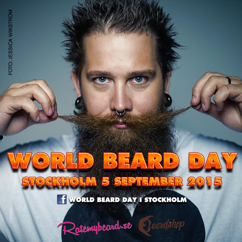world beard day stockholm