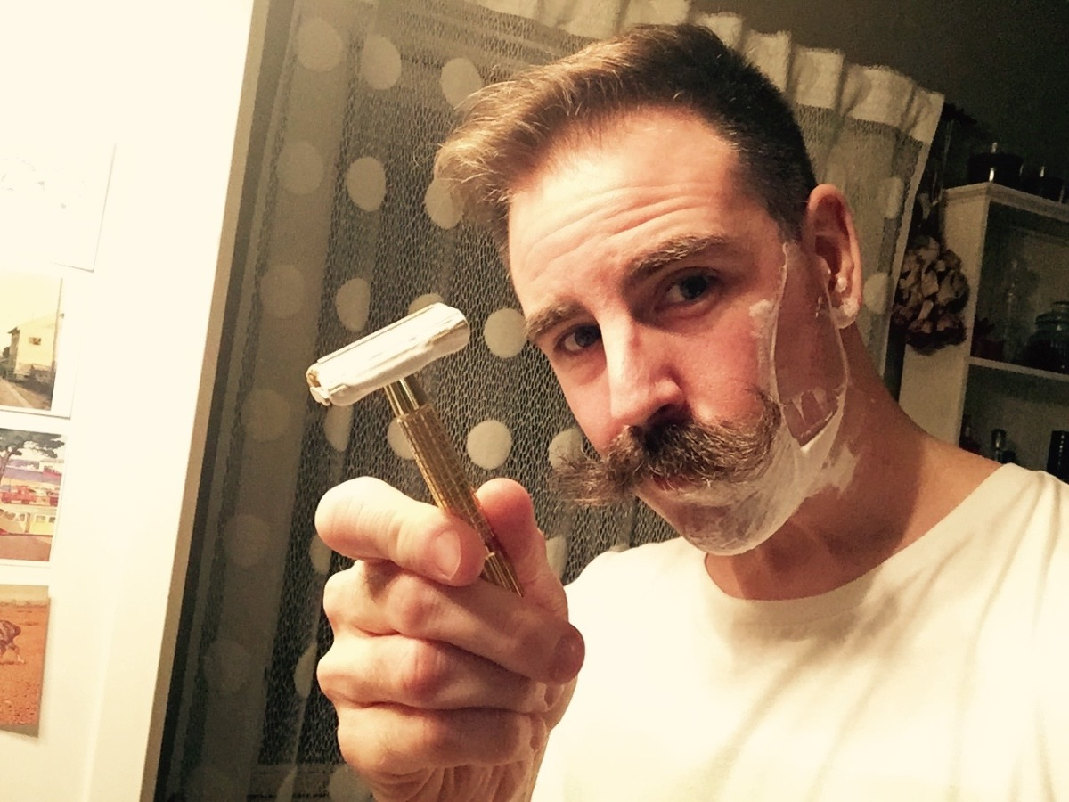 Shave like your grandpa!
