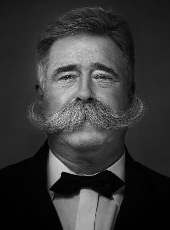 moustache natural