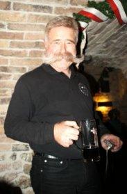 Wolfgang mit Bier